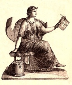 Clio, the muse of history